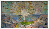 The Sun Art by Edvard Munch