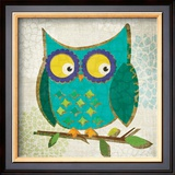 Who's Hoo I Prints by Tandi Venter