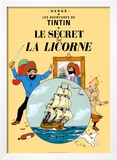 Le Secret de la Licorne, c.1943 Prints by Hergé (Georges Rémi)