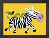 The Zebra Posters by Nathalie Choux