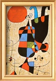 Upside-Down Figures Posters by Joan Miró