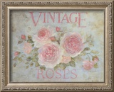 Vintage Rose Art by Debi Coules