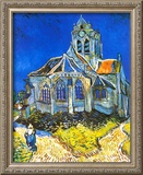 Church at Auvers, c.1895 Prints by Vincent van Gogh