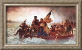 Washington Crossing the Delaware, c.1851 Print by Emanuel Leutze