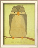 The Sensible Owl Posters by John Golden