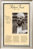 American Authors of the 20th Century - Robert Frost Poster
