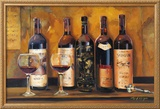 Cellar Reds Print by Marilyn Hageman