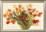Spring Tulips Art by Shirley Novak