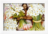 Vendedora de Alcatraces Art by Diego Rivera