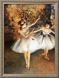 Ballerine Alla Barra Prints by Edgar Degas
