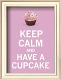 Candy Cupcake Posters