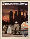 Power that serves the Nation Posters by  Chase