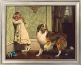 Special Pleader Poster by Charles Burton Barber