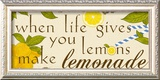 Lemonade Print by Anna Quach