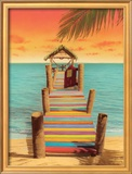 Tropicana Posters by Robin Renee Hix
