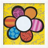 Flower Power I Art by Romero Britto