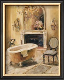 French Bath I Prints by Marilyn Hageman