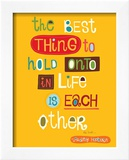 The Best Thing Poster by Helen Dardik