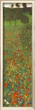 Field of Poppies Posters by Gustav Klimt