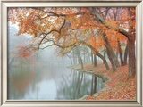 Autumn Reflections Posters by Mike Jones
