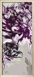 Purple Allure I Art by Sally Scaffardi