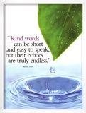 Kind Words Posters