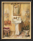 French Bath III Posters by Marilyn Hageman