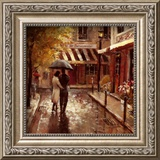 Romantic Stroll Posters by Brent Heighton