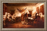 The Declaration of Independence Posters by John Trumbull