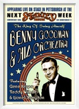 Benny Goodman Orchestra at the Stanley Theatre, Pittsburgh, Pennsylvania, 1936 Print by Dennis Loren