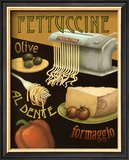 Fettuccine Art by Daphne Brissonnet