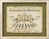 French Wine Labels III Art by Daphne Brissonnet