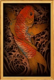 Koi Prints by Clark North