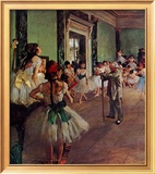 Dancing Class Posters by Edgar Degas