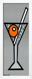 Martini Anyone Prints by Romero Britto