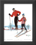 Ski Skills Posters by Norman Rockwell