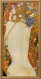 Serpente de mar IV, cerca de 1907 Pôsters por Gustav Klimt
