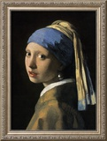 Girl with a Pearl Earring Posters by Jan Vermeer
