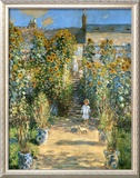Garden at Vetheuil, 1881 Art by Claude Monet
