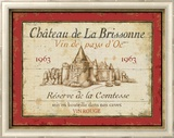 French Wine Labels I Prints by Daphne Brissonnet