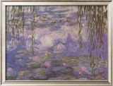 Nympheas Art by Claude Monet