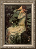 Ophelia, c.1894 Poster by John William Waterhouse