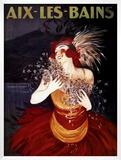Aix-Les-Bains Poster by Leonetto Cappiello