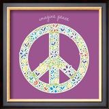 Imagine Peace Prints by Erin Clark