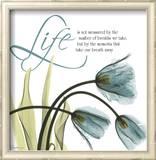 Swaying Tulips Blue, Life Print by Albert Koetsier