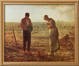 Angelus Prints by Jean-François Millet
