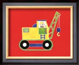 Cat in a Crane Prints by Shelly Rasche