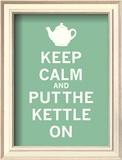 Keep Calm, Mint Tea Art