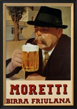 Moretti Beer Prints