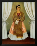 Self-Portrait Dedicated to Leon Trotsky, 1937 Posters by Frida Kahlo